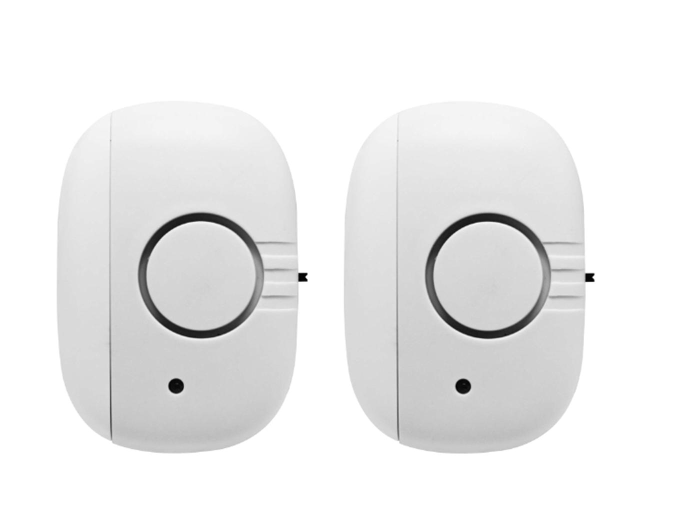 2er-Set WiFi Fensterkontakt Hausalarm Zusatz zu Mini-Alarmsystem von G-Homa