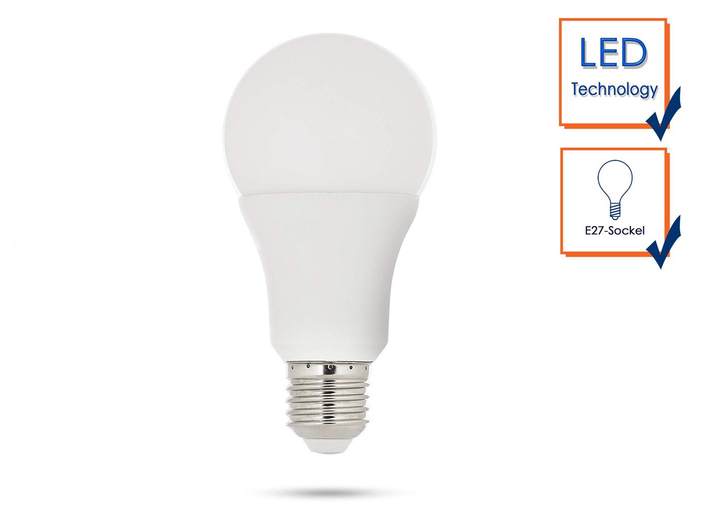 Glühlampe fernbedienbar LED E27 Leuchtmittel 7 Watt für Smarthome Basic Serie
