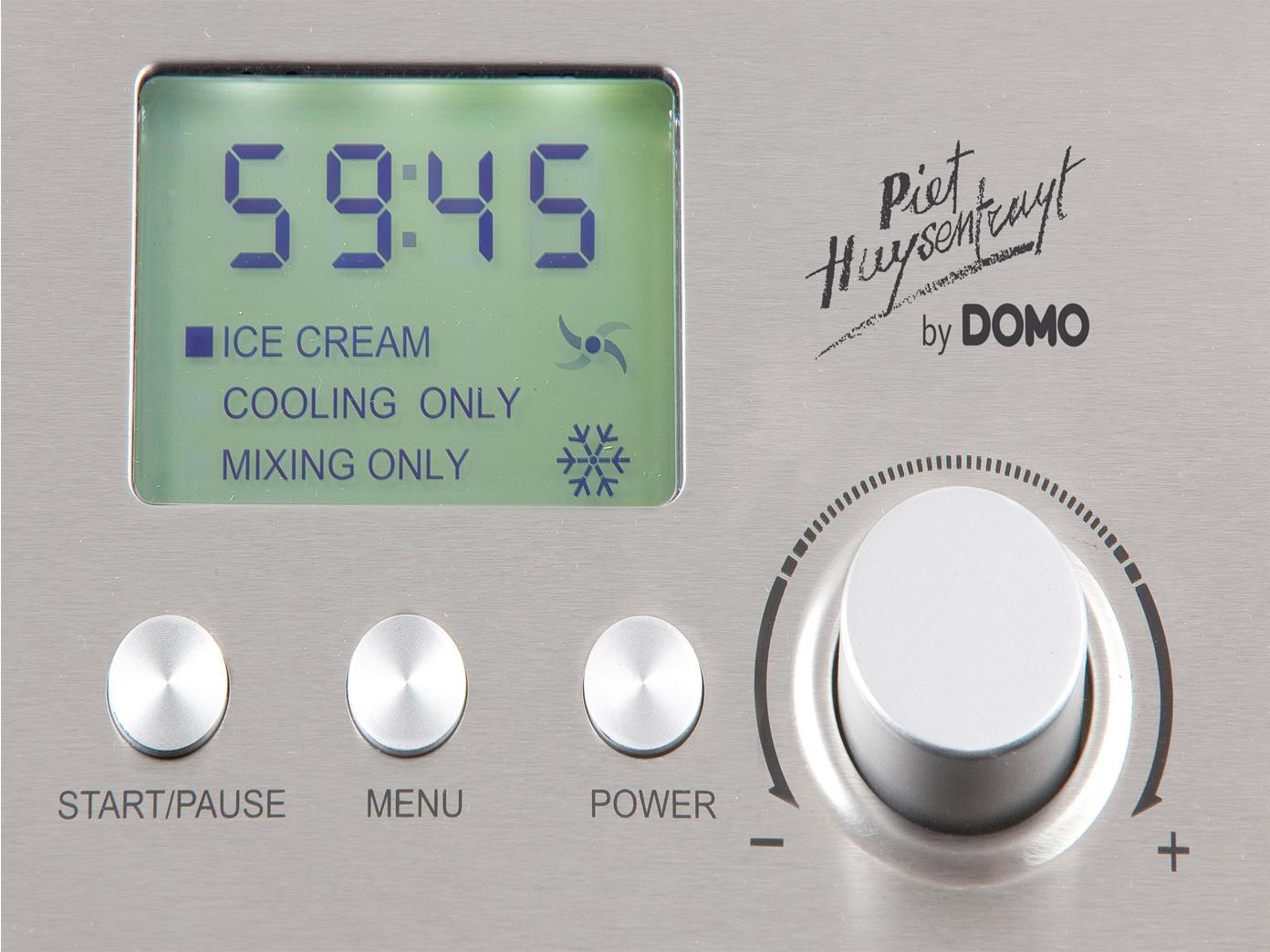 gelati gelato macchina pronti 2l//ora compressore In acciaio inox Makina per celato M