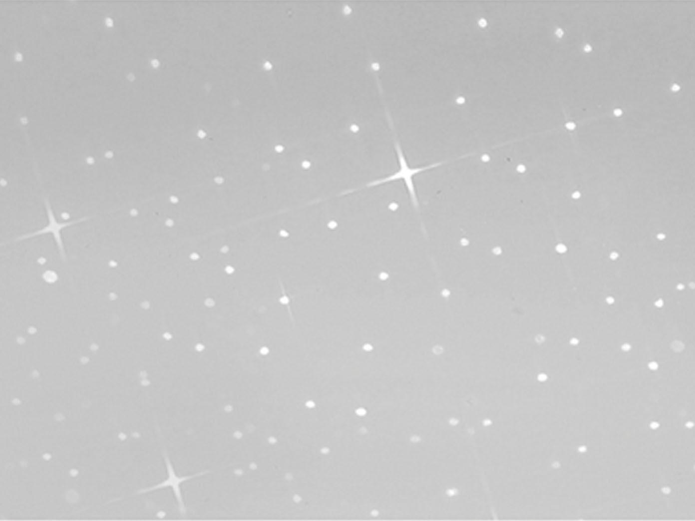 Honsel LED Deckenleuchte HEAVEN rund 29cm Sterndekor Deckenlampe Schlafzimmer