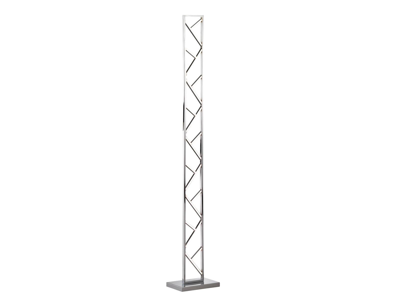 LED Stand Lampada in argentoo, altezza 130cm, design PIANTANA LAMPADA LAMPADA LAMPADA PIANTANA LAMPADE soggiorno e3bee8