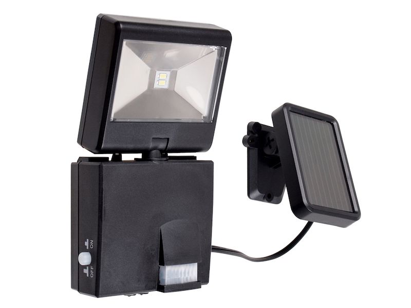 led gartenstrahler bewegungsmelder solar panel solar fluter solarlampe 4004282469162 ebay. Black Bedroom Furniture Sets. Home Design Ideas
