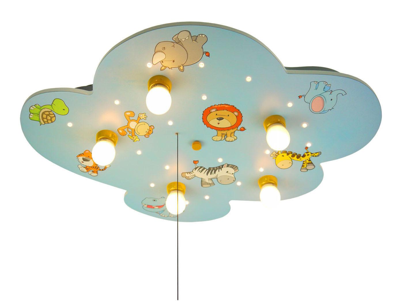 LED Lampe Kinderzimmer Wolkenlampe LED Sternenhimmel Schlummerlicht ...
