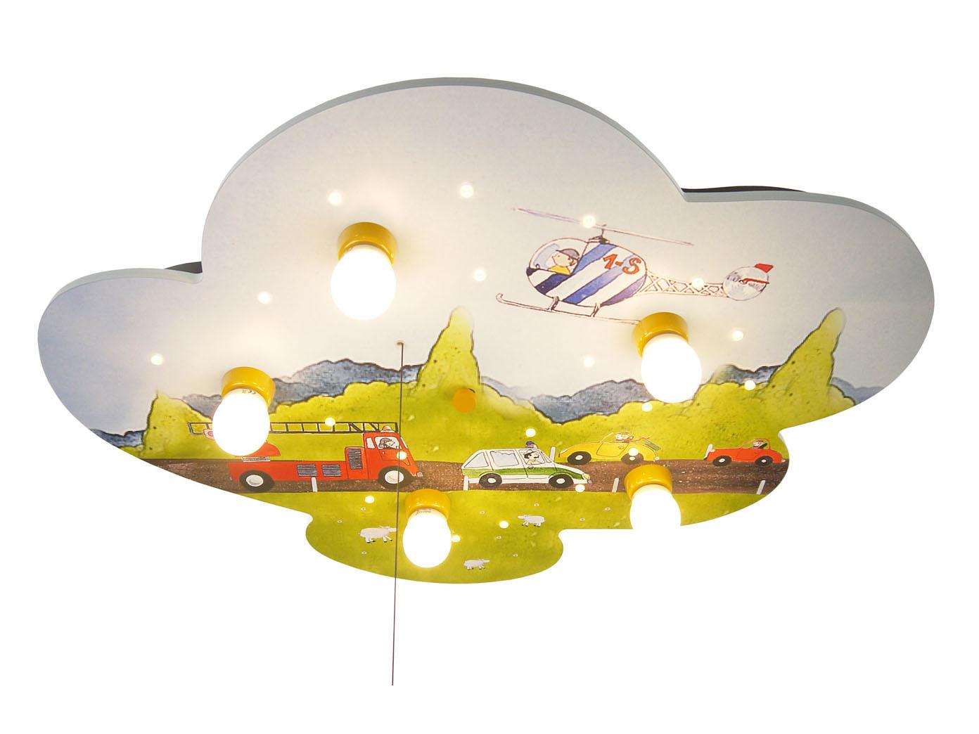 Deckenlampe kinderzimmer junge autos amazon echo kompatibel led schlummerlicht ebay - Amazon kinderzimmer ...