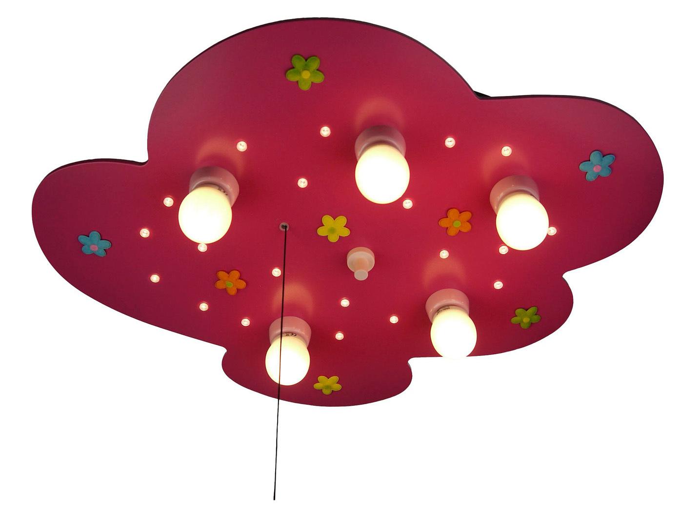 Los niños habitación lámpara compatible manta led luz de relajación Amazon echo compatible lámpara flores de tela 26bd39
