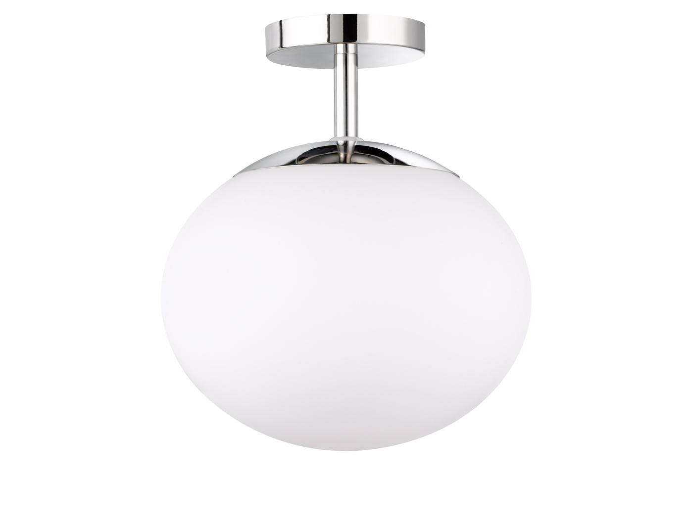 Kugel deckenlampe Ø 30cm opalglas weiß led schlafzimmerlampe