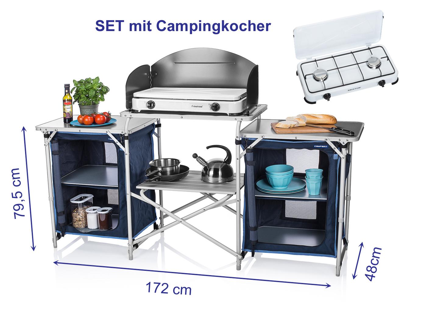 Outdoorküche Klappbar Forum : Mobile camping küchenbox alu: küchenbox sportbedarf und