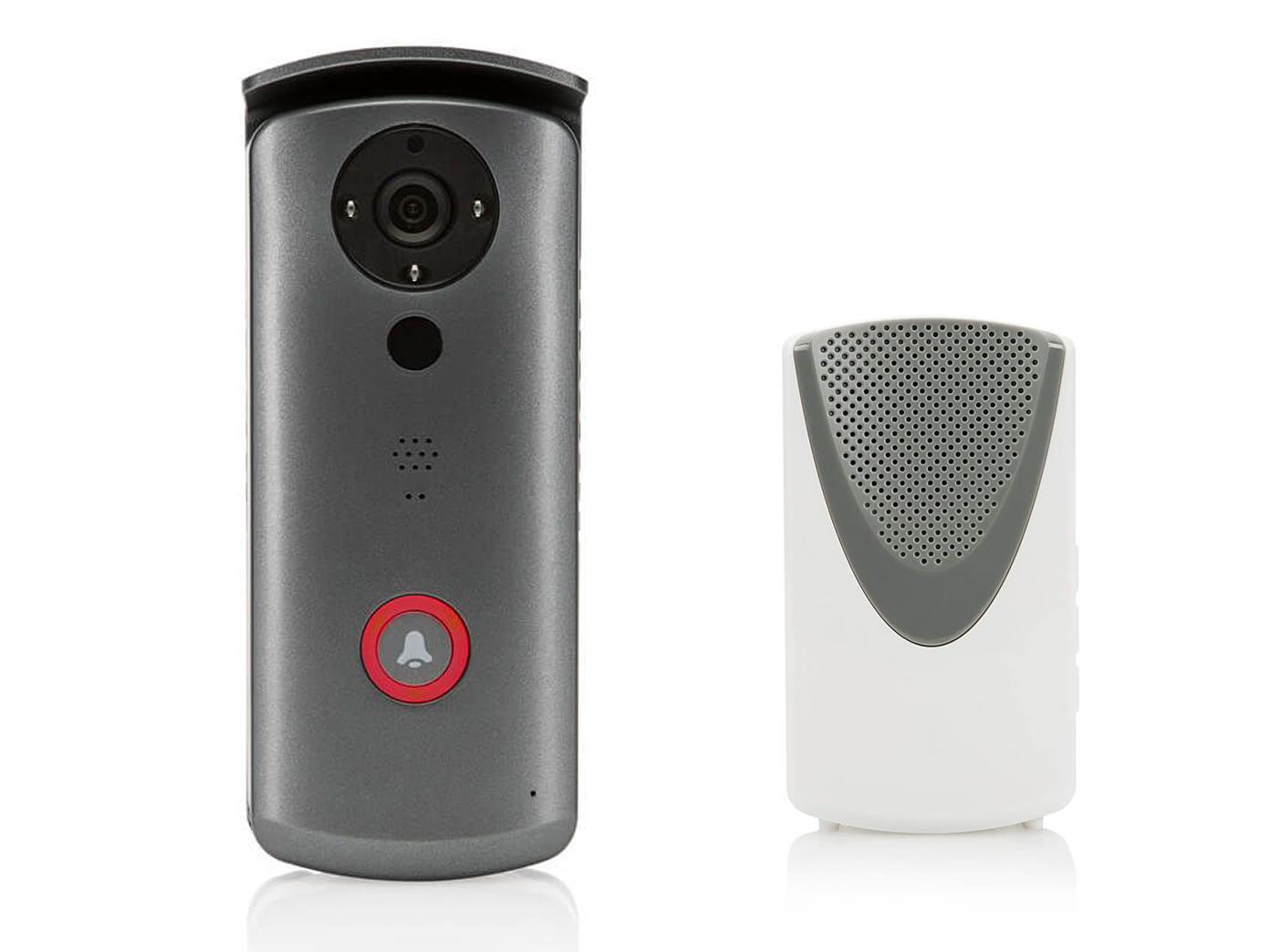 klingel mit kamera funk, video gegensprechanlage einfamilienhaus