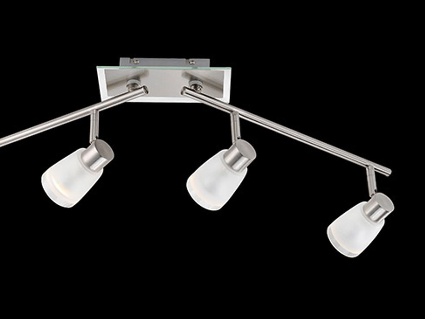 Deckenstrahler-mit-LED-Glas-satiniert-schwenkbar-Deckenlampe-Wohnraumleuchte