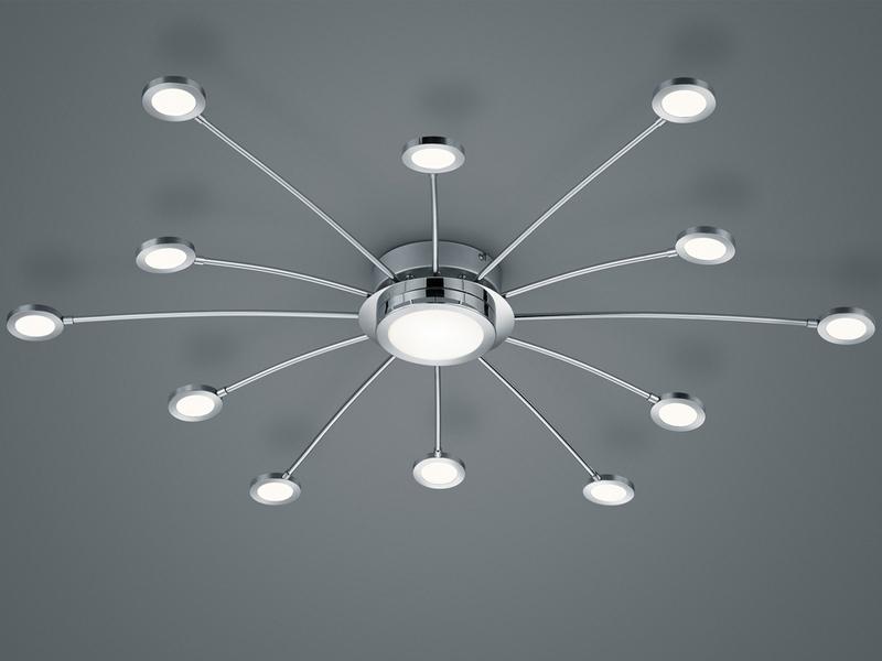 Dimmbare Deckenlampe Farbwechsel Fernbedienung Nachtlicht LED Design Leuchte