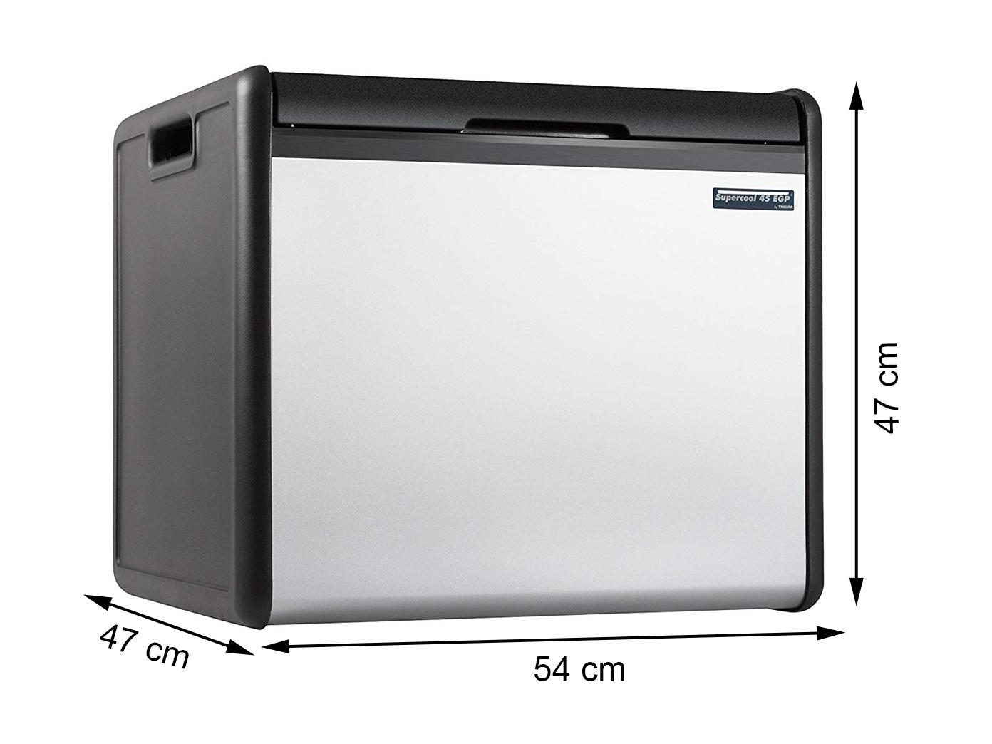 XL Kühlbox 39L 2l Fl. geeignet Edelstahlblende Gas-Betrieb Kühltasche 12V 230V
