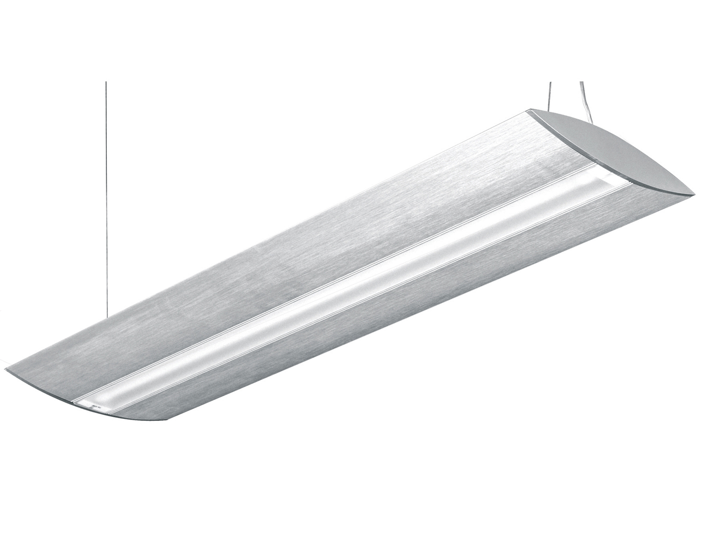 Design pendelleuchte eckig metall optik halogen for Lange deckenlampe