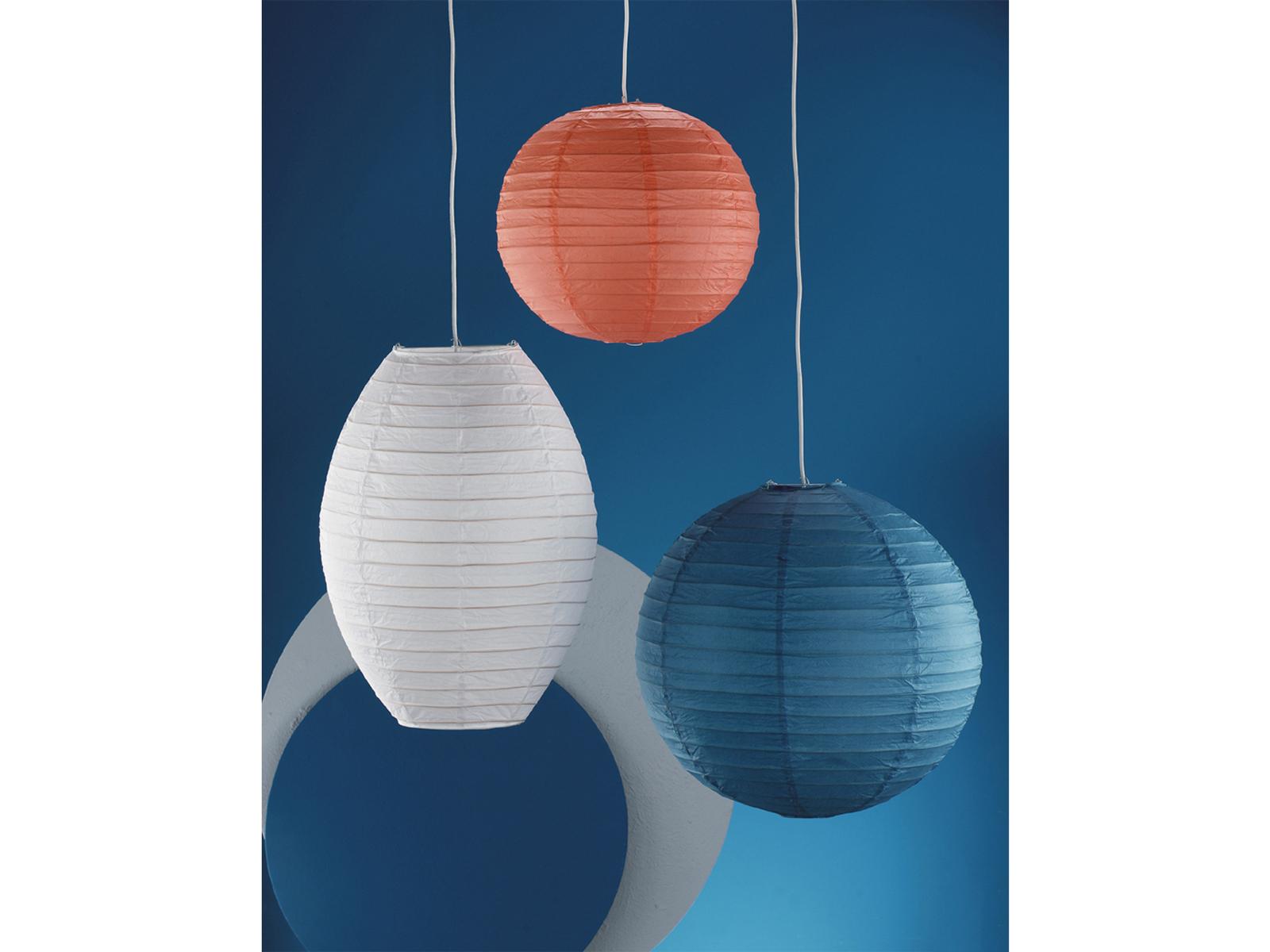 lampenschirm oval design japan kugel papier wei 40cm pendelleuchte lampion 4017807081541 ebay. Black Bedroom Furniture Sets. Home Design Ideas