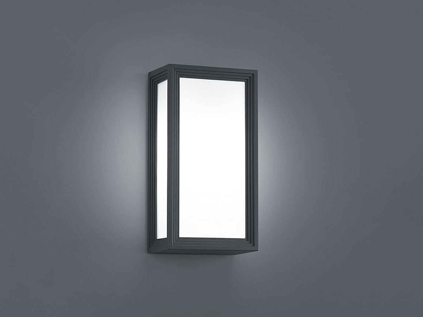LED-Außenwandleuchte   Wandlampe TIMOK, IP54, anthrazit, Trio