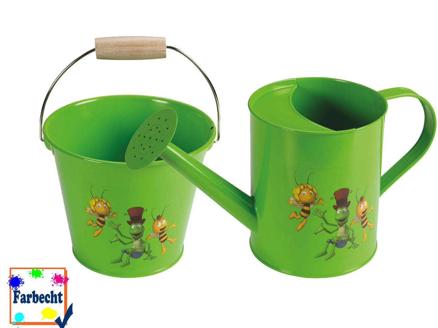Sandspielzeug Eimer Eimer Eimer   Gartenspielzeug für Kinder, -DIE BIENE MAJA-   Sonderangebot    Nutzen Sie Materialien voll aus  f7908a