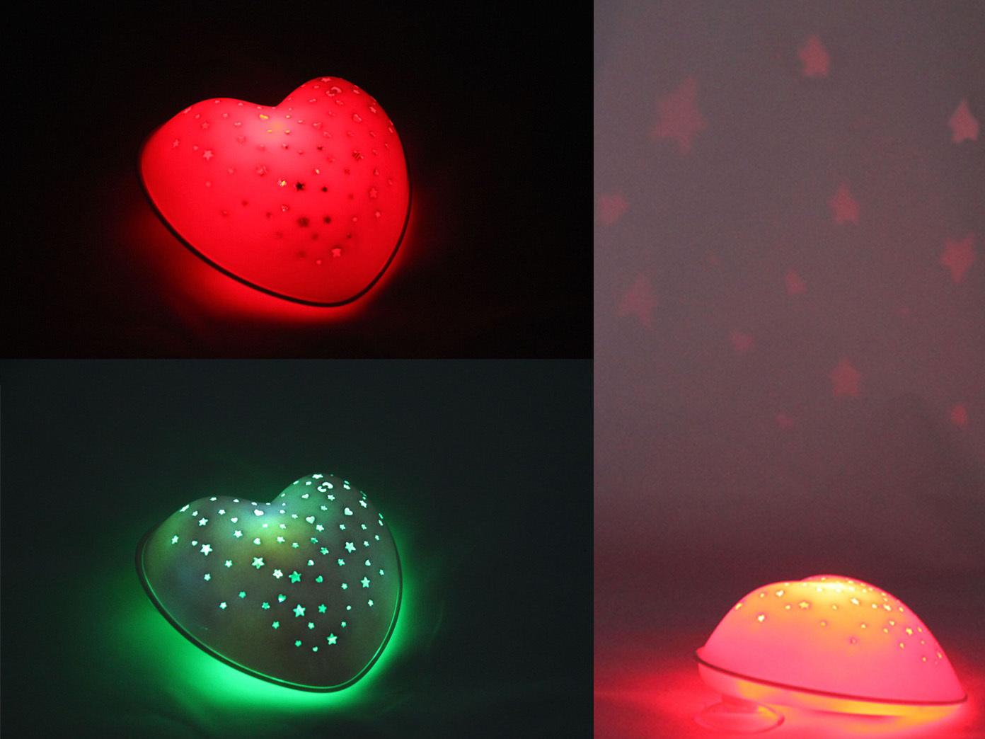 LED-noche-lampara-rosa-estrellas-corazon-explotaciones-Solar-luz-de-relajacion