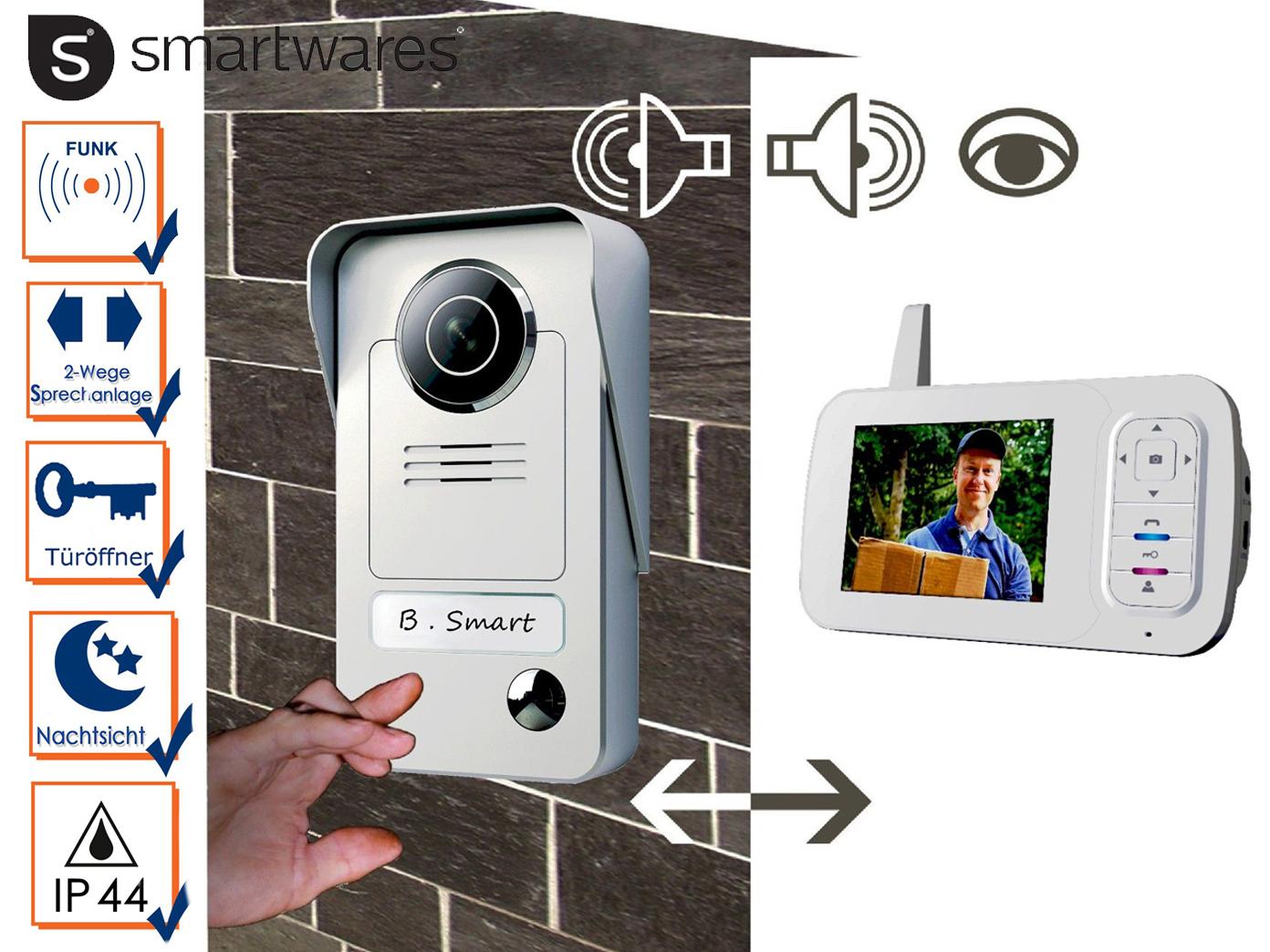 drahtlose video türsprechanlage türklingel mit kamera, sprechanlage