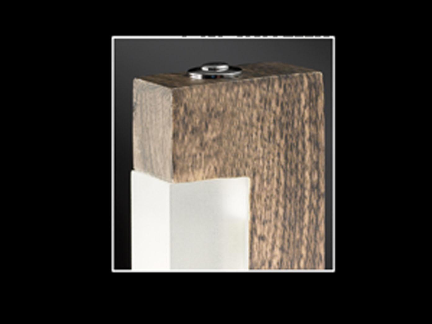 Honsel Design Led Stehlampe Dimmbar Stick Holz Stehleuchte