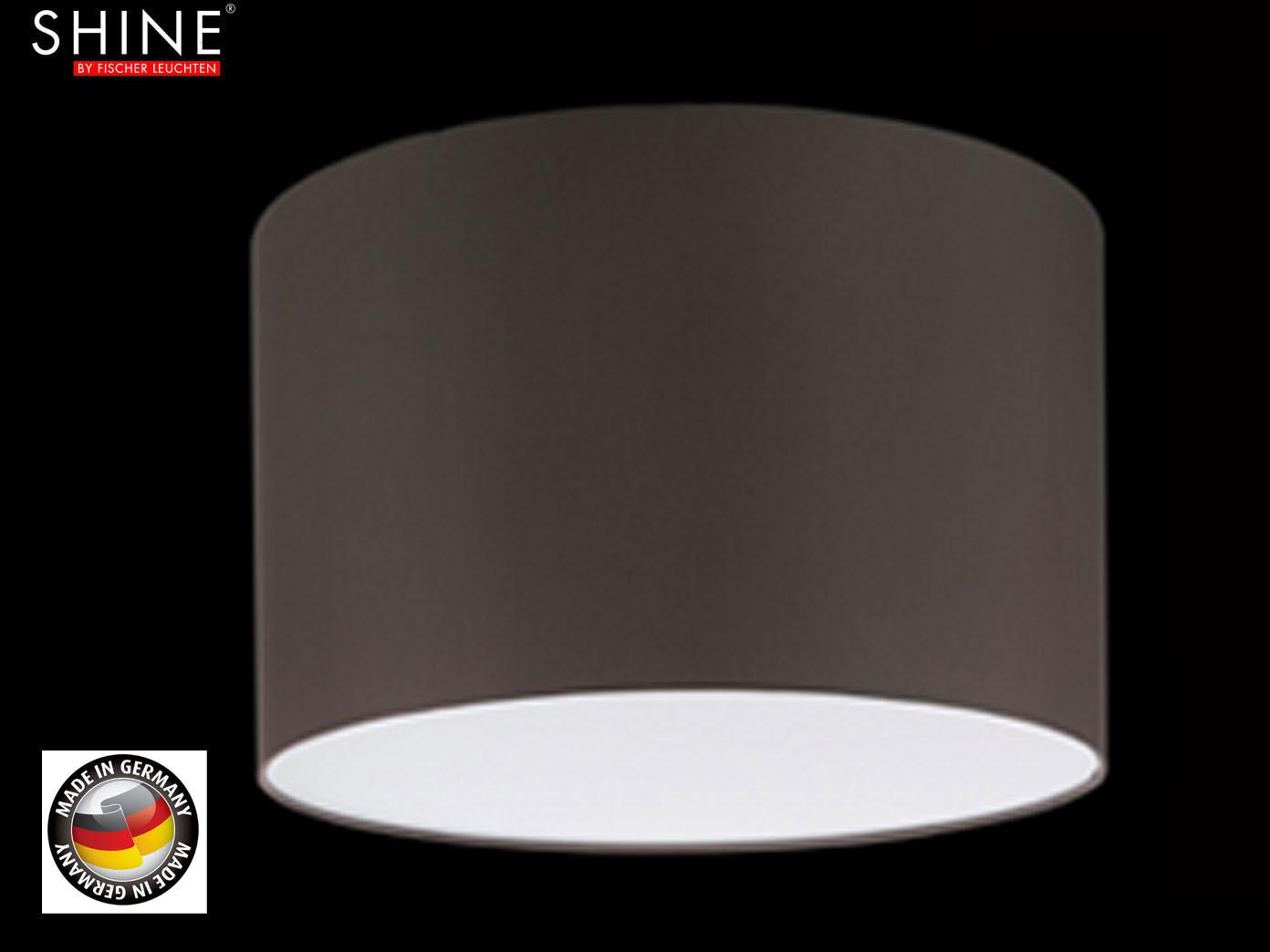 Designer Lampenschirm für Bogenlampe, grau braun, Hängeleuchte ...