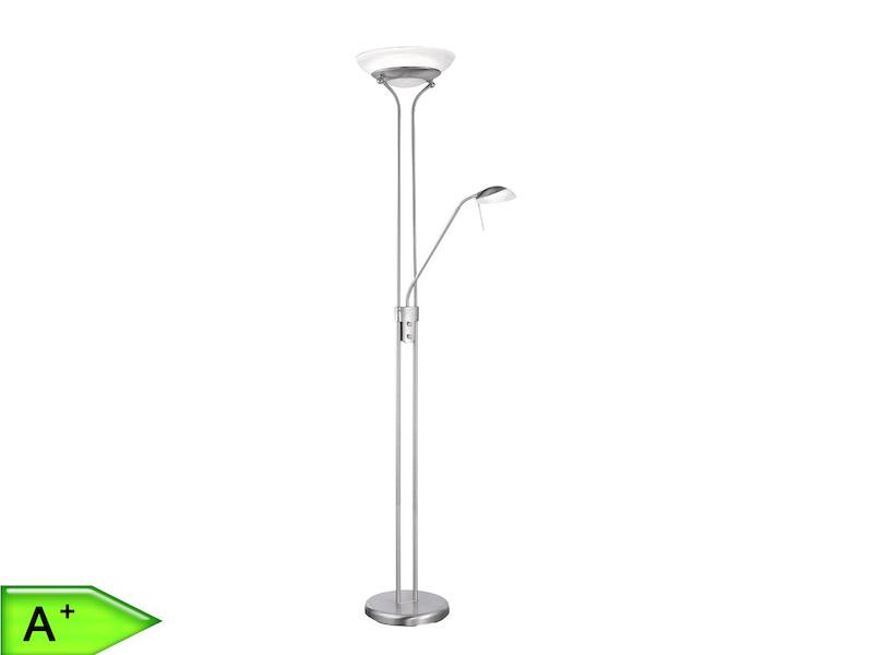 LED-Deckenfluter mit Leselicht, Dimmer und SAMSUNG-LED, FLI-Leuchten ...