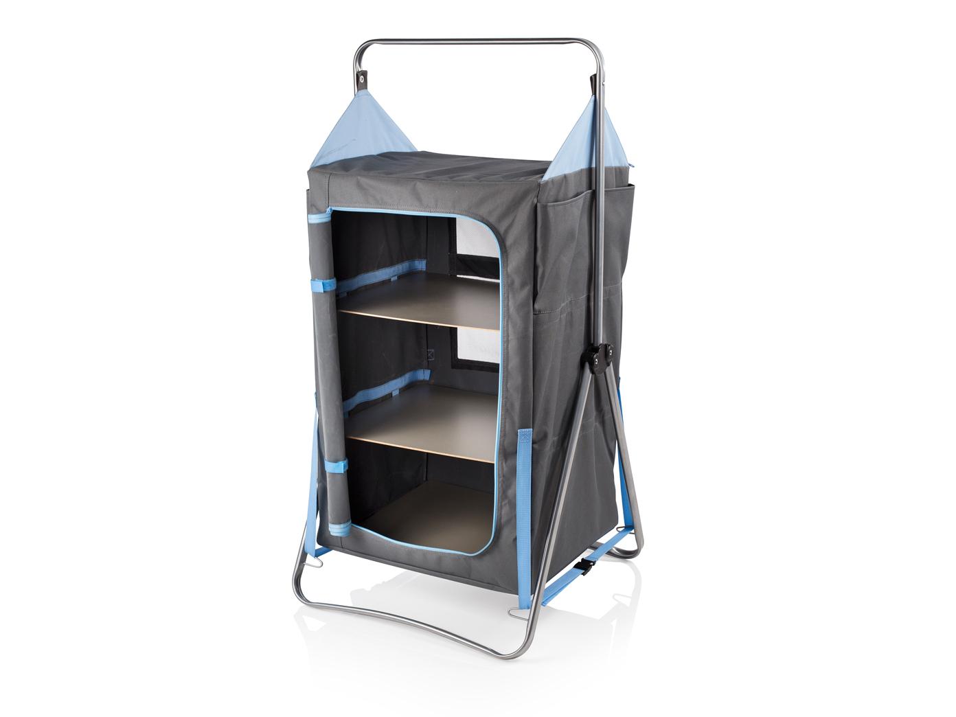 Faltbarer Vorzelt 3 Kleiderschrank, Stahlrahmen, 3 Vorzelt Fächer, Stoffbezug Polyester f6222e