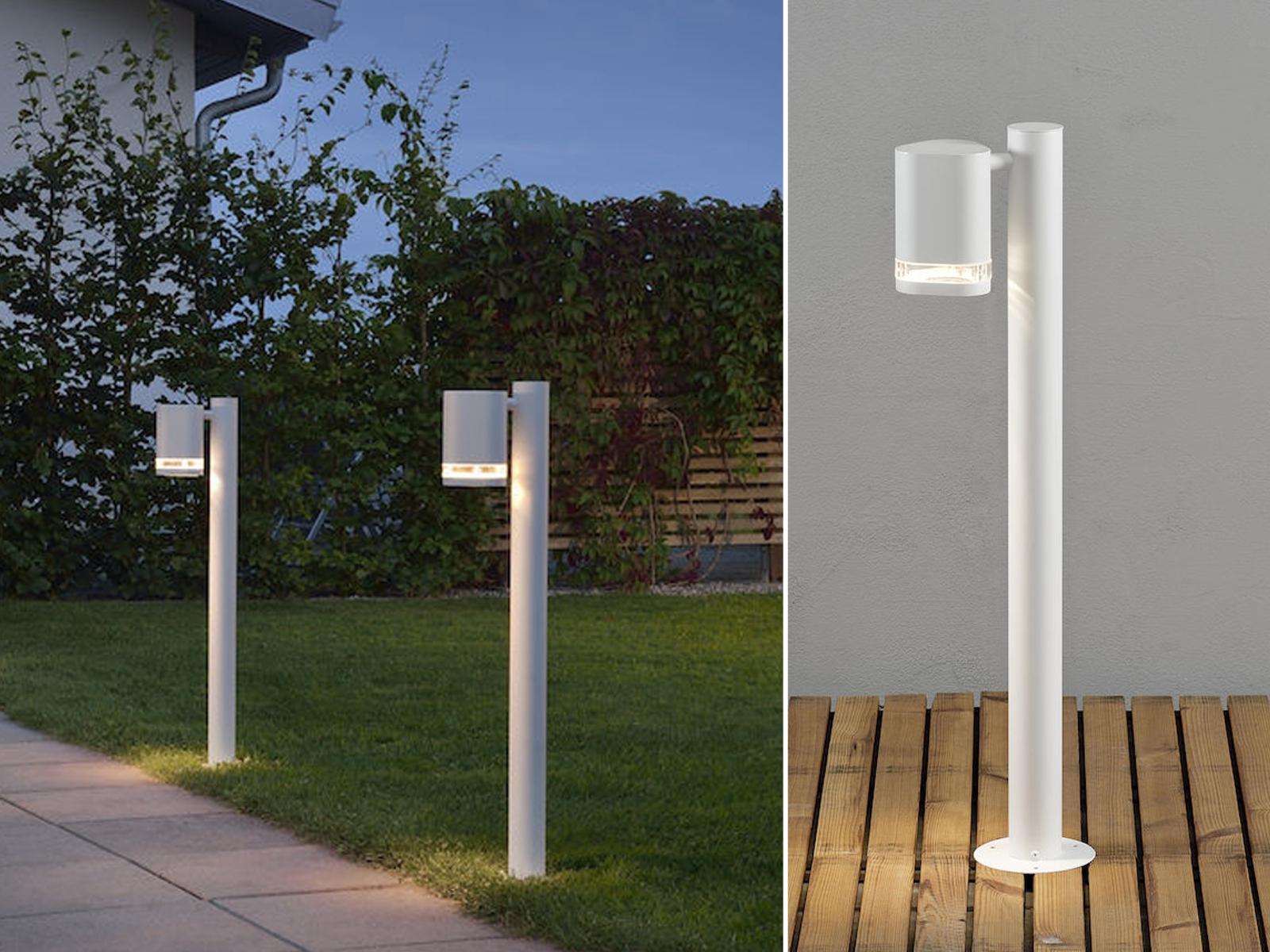 2er-Set Aluminium Wegeleuchte MODENA weiss, GU10, Höhe Höhe Höhe 70 cm, IP44 | Offizielle Webseite  | Moderate Kosten  | Niedriger Preis und gute Qualität  f64ffc